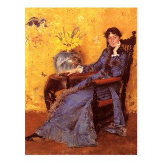 Portrait of Miss Dora Wheele Postcard