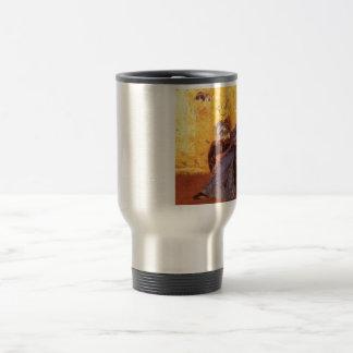 Portrait of Miss Dora Wheele Travel Mug