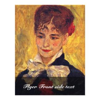 Portrait Of Mme Iscovesco (Portrait Of A Romanian) 21.5 Cm X 28 Cm Flyer