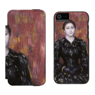 Portrait of Mme Paulin by Pierre-Auguste Renoir Incipio Watson™ iPhone 5 Wallet Case