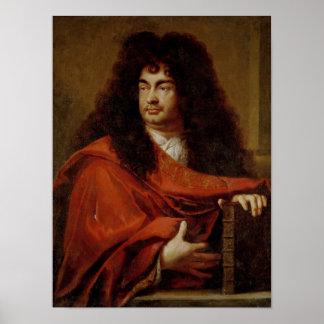 Portrait of Montfleury Poster