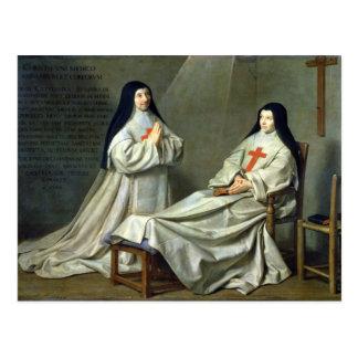 Portrait of Mother Catherine-Agnes Postcard
