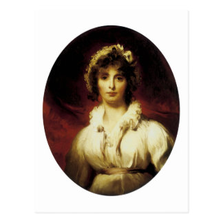 Portrait of Mrs Robert Burne-Jones Postcard