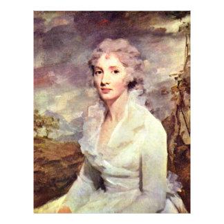 Portrait Of Ms Eleanor Urquhart By Raeburn Flyers