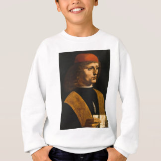 portrait of Musician Sweatshirt