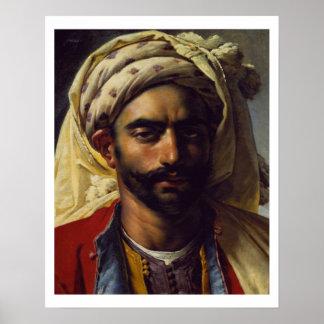 Portrait of Mustapha Poster
