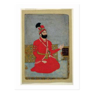 Portrait of Nadir Shah Afshar of Persia (1688-1747 Postcard
