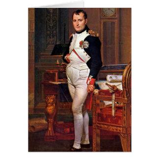 Portrait Of Napoleon By Jacques-Louis David Card