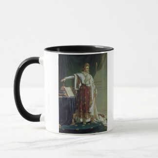 Portrait of Napoleon I in his Coronation Robes, 18 Mug