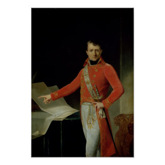 Portrait of Napoleon I Poster
