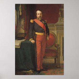 Portrait of Napoleon III  1862 Poster