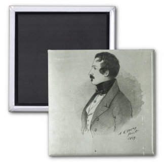 Portrait of Napoleon III  as a young man, 1839 Magnet