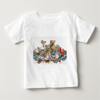 Portrait of Nature's Young Wildlife Baby T-Shirt