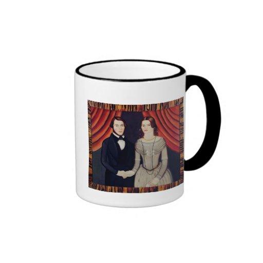 Portrait of Newly-weds Coffee Mug