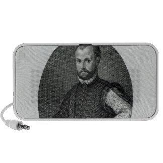 Portrait of Niccolo Machiavelli Speaker System