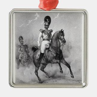 Portrait of Nicholas I Pavlovich Metal Ornament