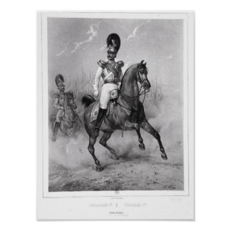 Portrait of Nicholas I Pavlovich Poster