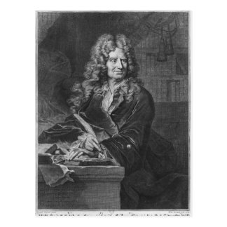 Portrait of Nicolas Boileau Postcard