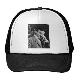 Portrait of Nikola Tesla Mesh Hat