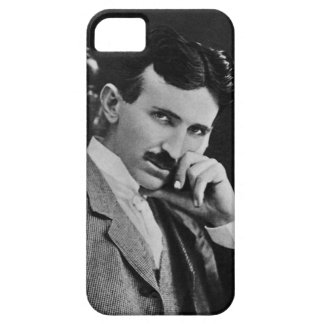 Portrait of Nikola Tesla iPhone 5 Cover