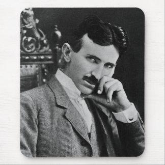 Portrait of Nikola Tesla Mousepads