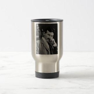 Portrait of Nikola Tesla Coffee Mugs