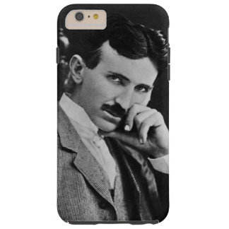 Portrait of Nikola Tesla Tough iPhone 6 Plus Case