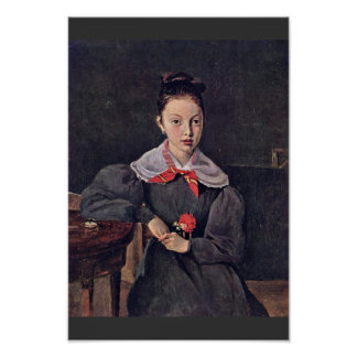 Portrait Of Octavie Sennegon The Artist'S Niece (L Poster