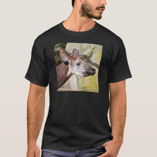 Portrait of okapi (Okapia johnstoni) T-Shirt