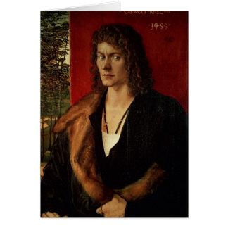 Portrait of Oswolt Krel, 1499 Card