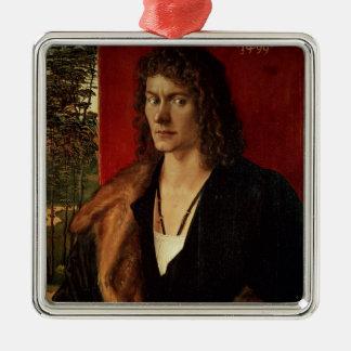 Portrait of Oswolt Krel, 1499 Christmas Ornament