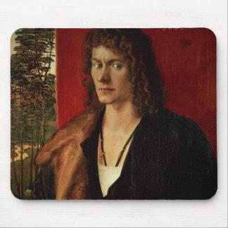 Portrait of Oswolt Krel, 1499 Mouse Pad