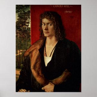 Portrait of Oswolt Krel, 1499 Poster
