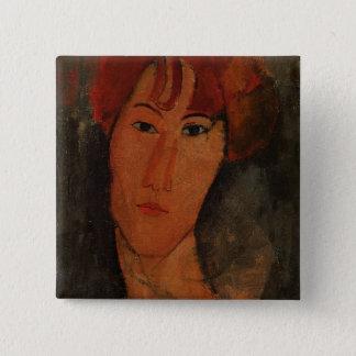 Portrait of Pardy, c.1915 (oil on canvas) 15 Cm Square Badge