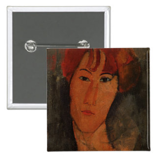 Portrait of Pardy, c.1915 (oil on canvas) 15 Cm Square Badge