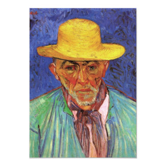 Portrait of Patience Escalier, Shepherd - van Gogh Card
