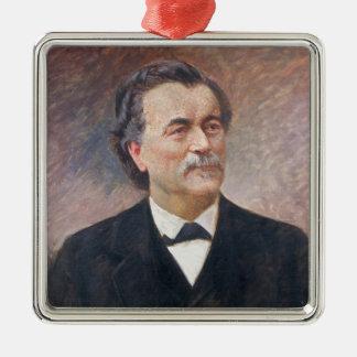 Portrait of Paul Bert Metal Ornament