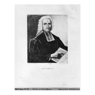 Portrait of Paul Rabaut Postcard