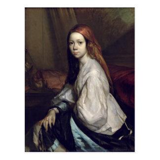 Portrait of Pauline Ono Postcard