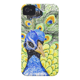 Portrait of Peacock Case-Mate iPhone 4 Case