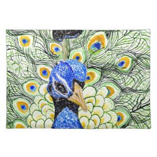 Portrait of Peacock Placemat