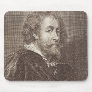 Portrait of Peter Paul Rubens (1577-1640) plate 30 Mouse Pad