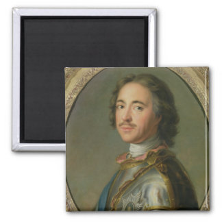 Portrait of Peter the Great Refrigerator Magnets