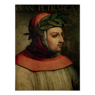 Portrait of Petrarch Poster