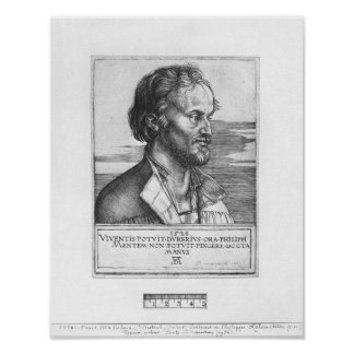 Portrait of Philipp Melanchthon, 1526 Poster