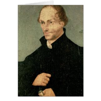 Portrait of Philipp Melanchthon , 1532 Card