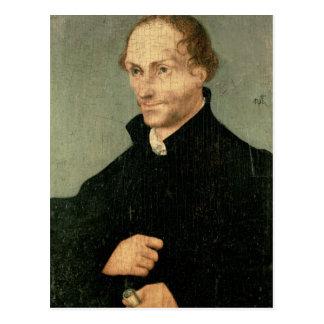 Portrait of Philipp Melanchthon , 1532 Postcard