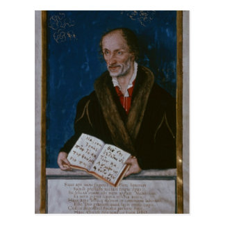 Portrait of Philipp Melanchthon Postcard