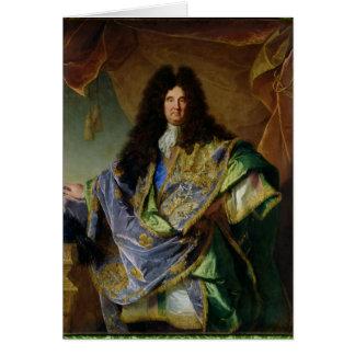 Portrait of Philippe de Courcillon  Marquis Card