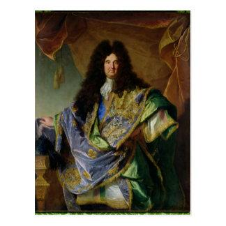Portrait of Philippe de Courcillon  Marquis Postcard